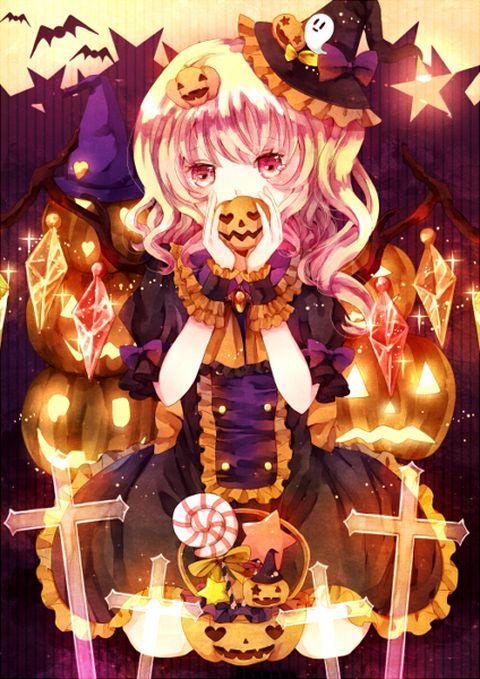 anime halloween girl - photo #31