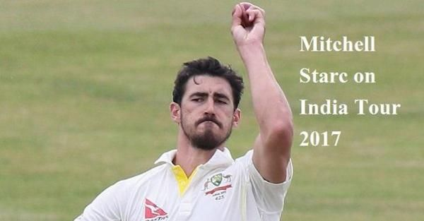 There is no big doubt to see Mitchell Starc as most wicket taker in India Vs Australia Test Series 2017. Mitchell Starc's wicket taking ability will easily make him most wicket taker in Ind Vs Aus Test Series.