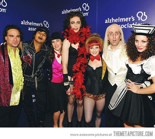 Big Bang Theory cast as Rocky Horror…Two of my favorite things!