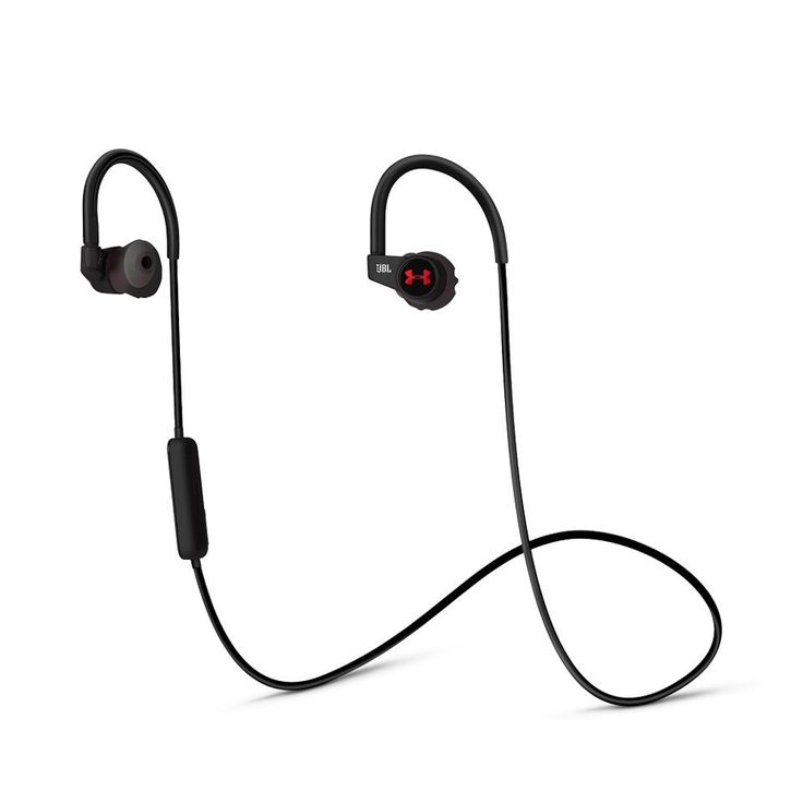 JBL UA Sport Wireless Heart Rate Headphones $200 Gym apparel brand Under Armour have enlisted the help of audio experts JBL to build a set of in-ear Bluetooth headphones with a twist: they have a heart rate monitor built-in, too. It also gives you audio updates for things like pace, distance, heart rate and heart-rate zones so you can improve on previous workouts.