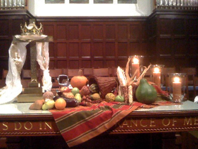 altar table ideas