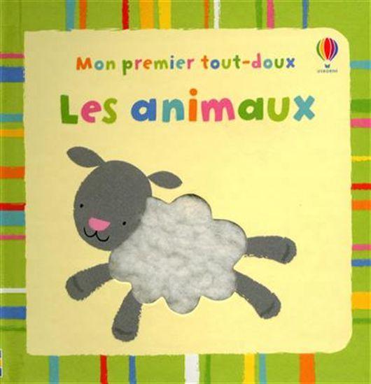Les Animaux 3199700096499 CPRPS Des illustrations aux couleurs vives contrastées, des matières à toucher... Un joli petit livre sur lequel parents et bébés pourront se pencher ensemble.