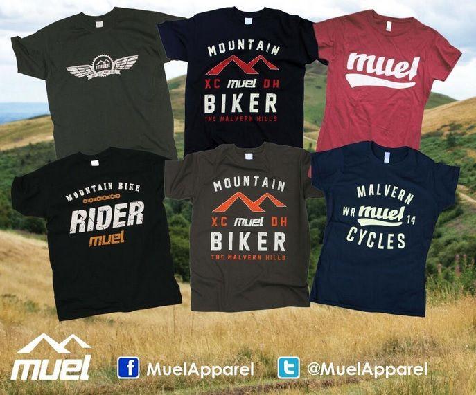 Mountain bike tees