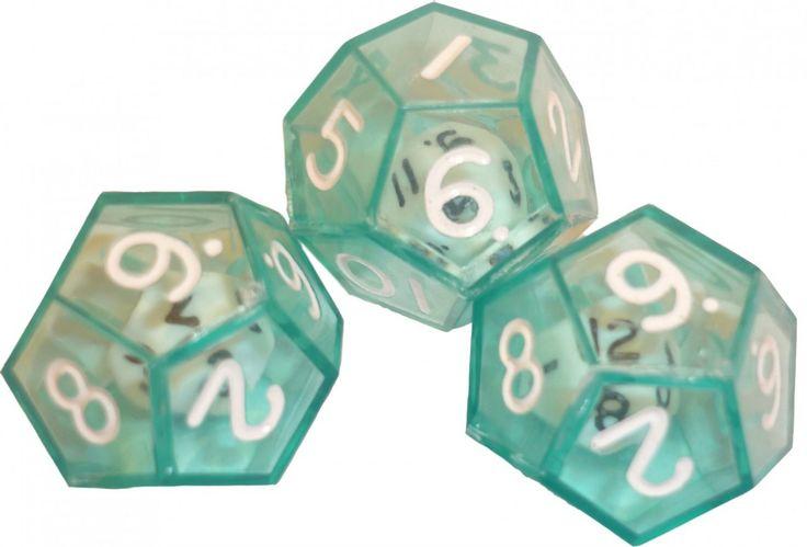 dice inside dice | 12 Sided Dice inside clear Dice - Edsource Australia Store