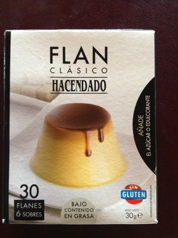 Flan Clásico Hacendado (Mercadona) - 0 p (solo se puntúa la leche que se utilice).