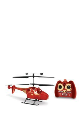 World Tech Toys Marvel Avengers Iron Man Ir Hero Pilot Rc Helicopter - Red - No Size