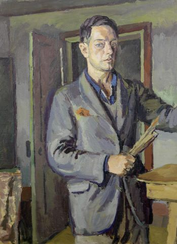 Self-Portrait, 1925 by Duncan Grant (Scottish 1885-1978).