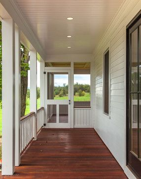 Weybridge, Vermont Farmhouse Renovation - contemporary - Spaces - Burlington - Smith & Vansant Architects PC