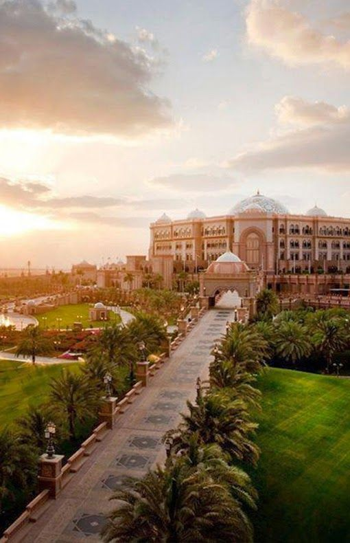 Emirates Palace Hotel | Abu Dhabi                                                                                                                                                                                 More