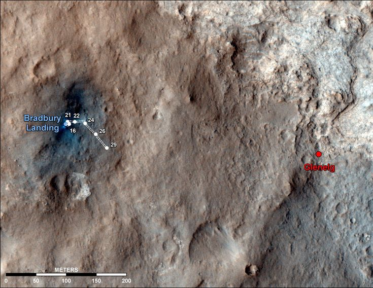 Curiosity on the Move: Mars Rovers, Curio Rovers, Rovers Curiosities, Nasa Mars, Curiosities Rovers, Maps, Curiosity Rover, Photo, The Dots