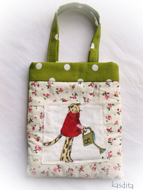 Small cat bag for girls by kasdita on Etsy