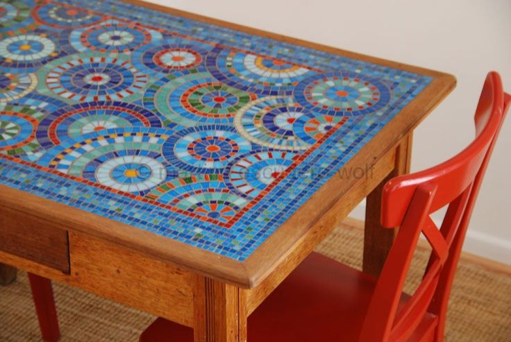 Mosaic Patterns For Table Tops Mosaic table top: