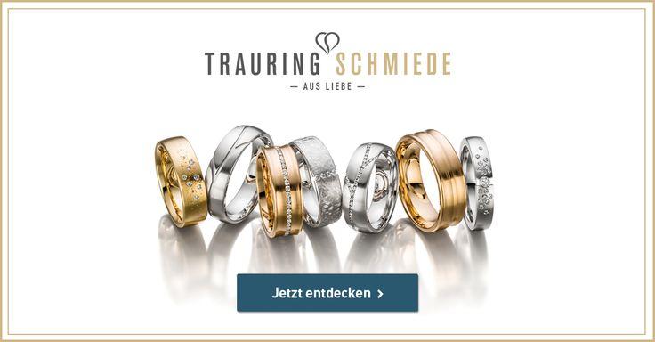 Trauringe Eheringe und Verlobungsringe kaufen | Trauringschmiede