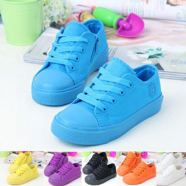 Goedkope 2015 Nieuwe Lente Fashion Casual Lace Up Snoep Kleur Canvas Schoenen Merk Kinderen Sneakers Kinderen 6 Kleuren Meisjes Jongens Schoenen, koop Kwaliteit sneakers rechtstreeks van Leveranciers van China: