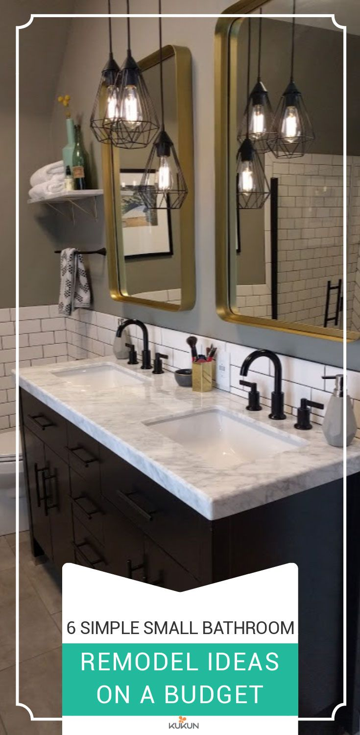 12 Small Bathroom Remodel Ideas When You Are On A Budget