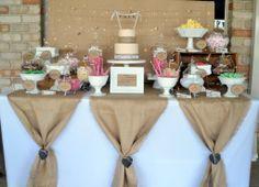 Mesa dulce estilo #rustico..muy lindo!