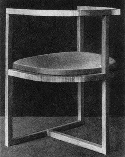 Karol Tichy, Krzesło, 1904