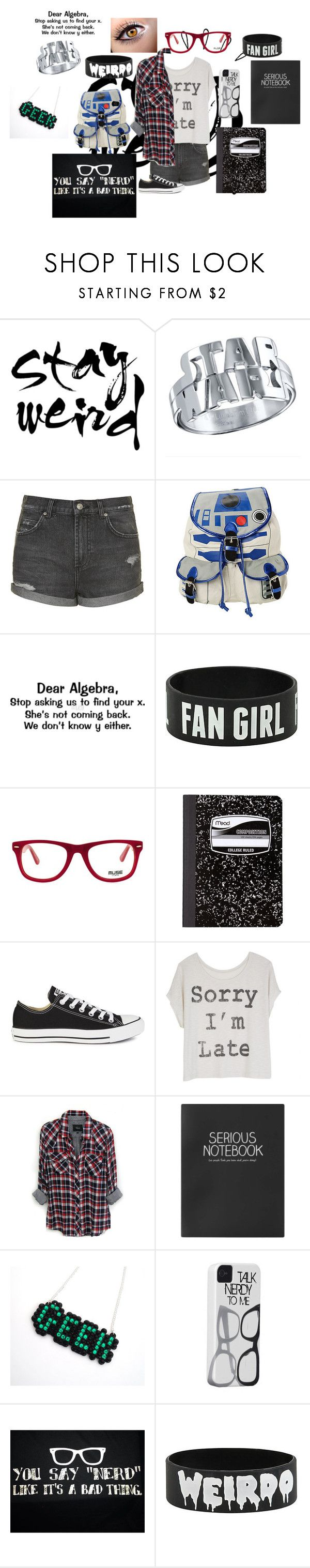 """Untitled #62"" by im-a-unicorn-duh ❤ liked on Polyvore featuring Topshop, Old Navy, R2, Muse, Mead, Converse and Rails"