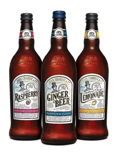 John Crabbie ginger soft drinks