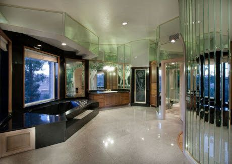 Bathroom of multi million dollar house in las vegas for Million dollar homes for sale in las vegas