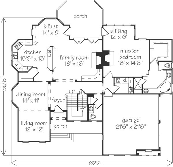 European House Plans Craftsman European House Plan 82162