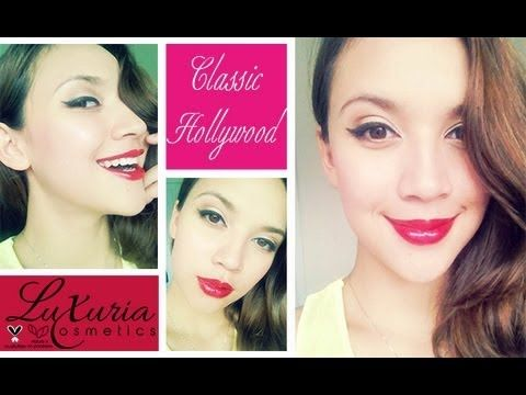 Hi beauties! Classic hollywood makeup is the most glam you could go while looking classy and chic! Let us know how you have loved it! Xx  Get the look at www.luxuriacosmetics.com