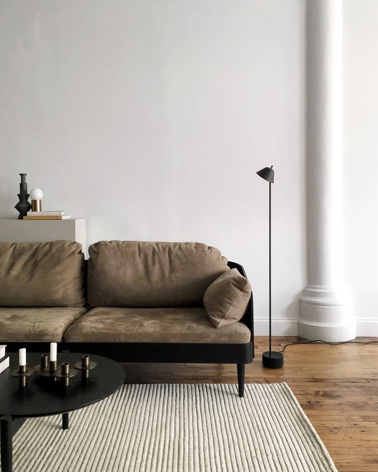 MENU | Septembre Sofa by Theresa Arns and our Peek Floor Lamp by Jonas  Wagell in