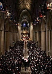 Death and state funeral of Ronald Reagan - Wikipedia, the free encyclopedia