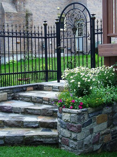 8 Best Stone Fences Images On Pinterest Stone Fence