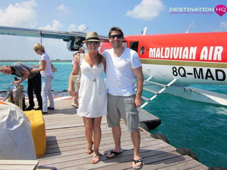 Mel & Sam in the Maldives