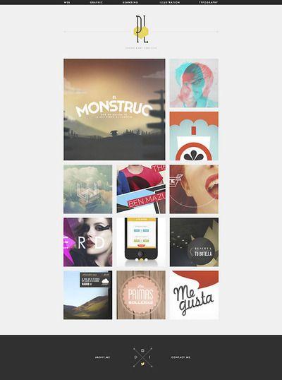 Awesome portfolio by art director Sara Moreno aka Pixel Lover  http://pixellover.com/