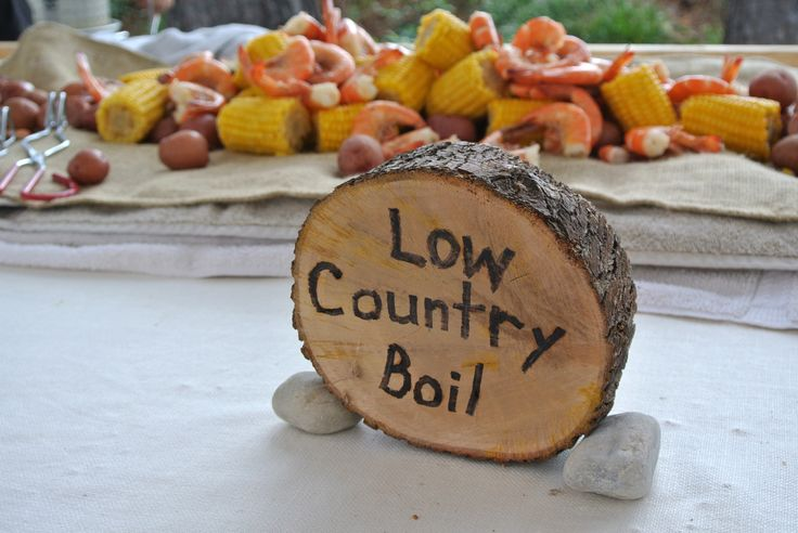 Low Country Boil Reception