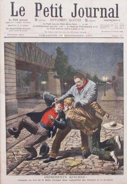 Les Apaches de la Belle Epoque dans le Petit Journal - Le blog de Philippe Poisson