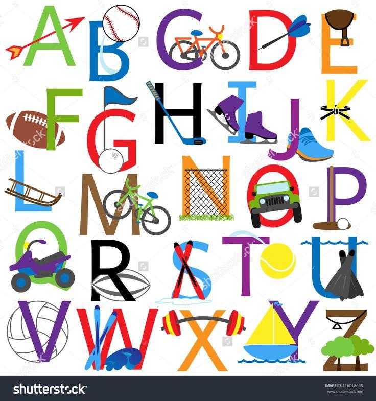 Best Abc Kids I Images On   Alphabet Letters Fancy
