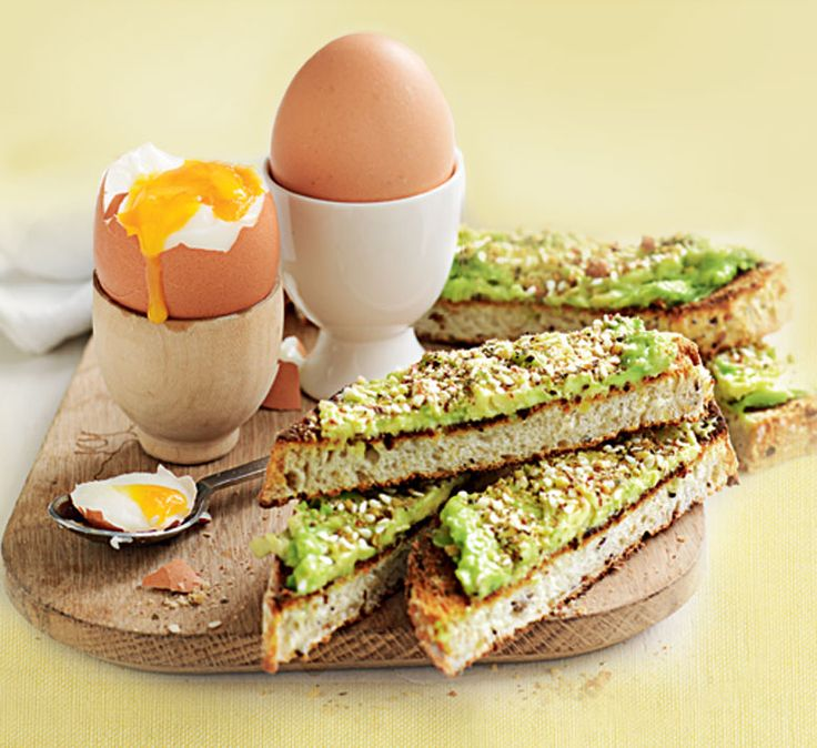 Sukkah avocado soldiers with eggs
