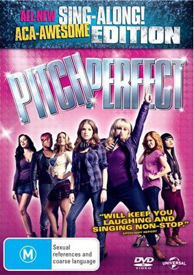 Pitch Perfect DVD and it's the Sing Along edition. AgileShopper thinks this would be a great way to get in the mood to see Pitch Perfect 2!