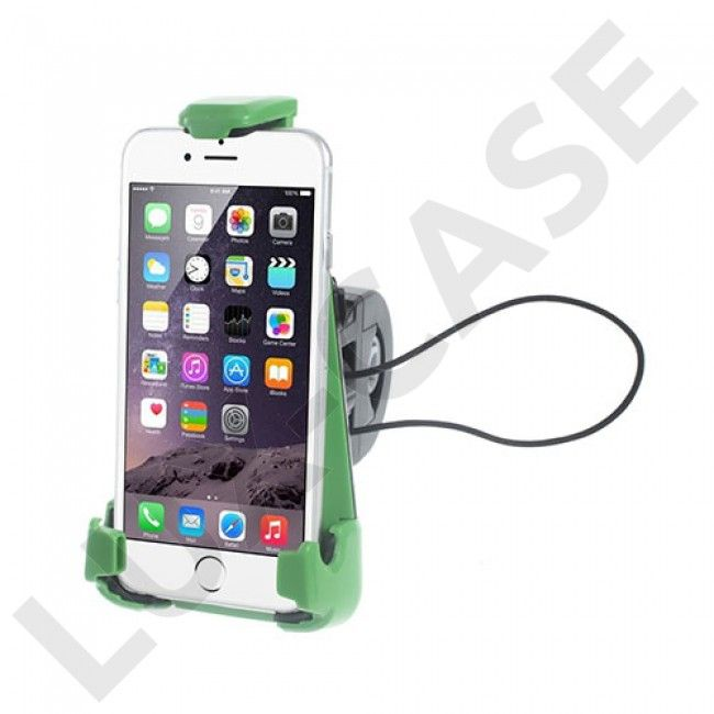 X19-Variasjonen sykkelholder for smarttelefon med sugekopp. Max størrelse: 9x16.5 cm - GRATIS FRAKT!