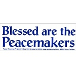 'cause I could use another bumper sticker on my car :) $2.99 from peacemonger.org