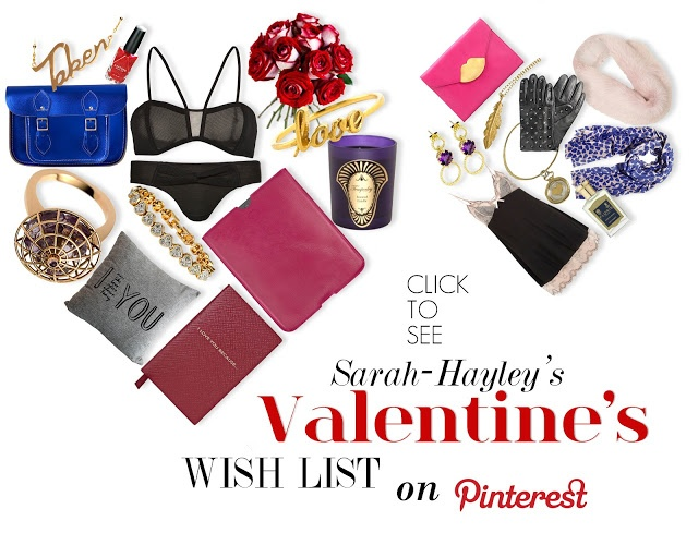 Sarah-Hayley's Valentines Day Gift Ideas