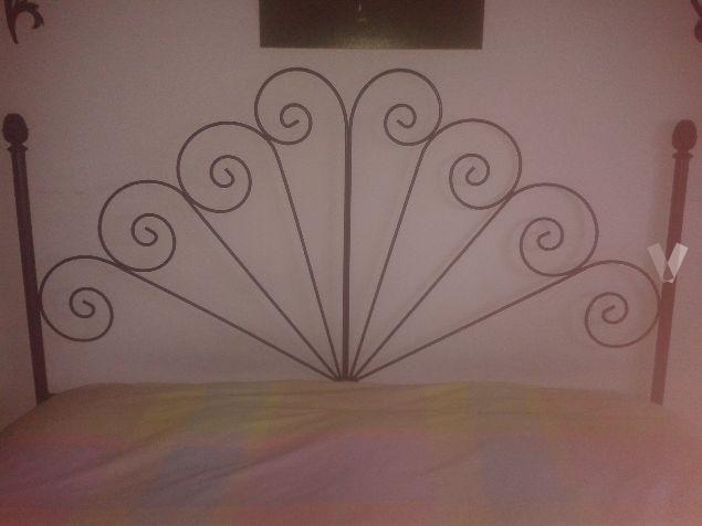 Cabecero de hierro forjado para cama de matrimonio en Madrid - vibbo  - 70268798