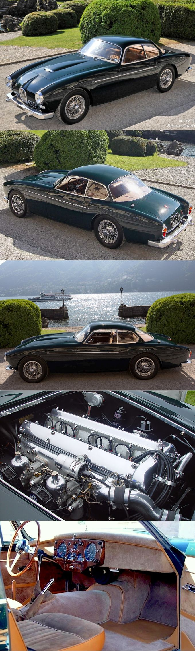 1954 Jaguar XK140 Zagato / 3.4l 190hp L6 / Italy UK / green / 17-362