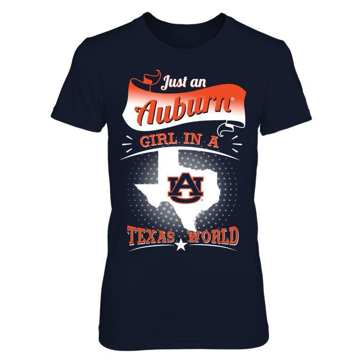 Auburn Tigers - Girl In A Texas World
