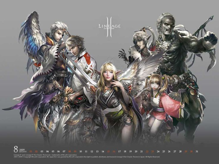 Lineage II The Chaotic Throne category wallpaper