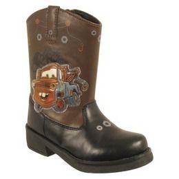 toddler boys cowboy boots | Disney Toddler Boy's Cars Cowboy Boot - Brown 12 - (Toddler/Youth ...