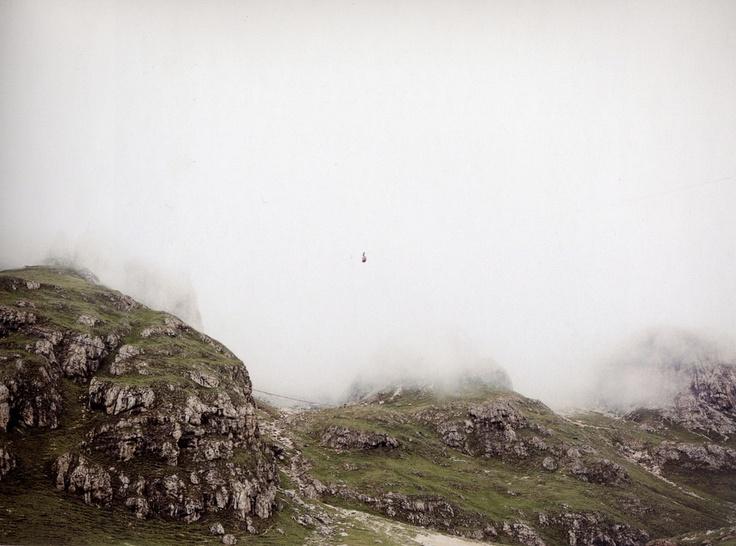 Andreas Gursky, Seilbahn Dolomiten