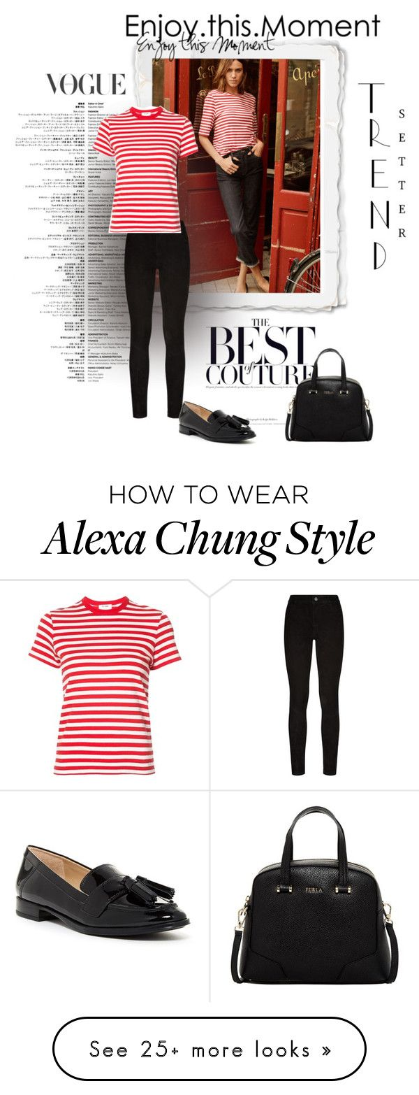 """Untitled #2432"" by swc0509 on Polyvore featuring AG Adriano Goldschmied, Paige Denim, RE/DONE, Via Spiga and Furla"
