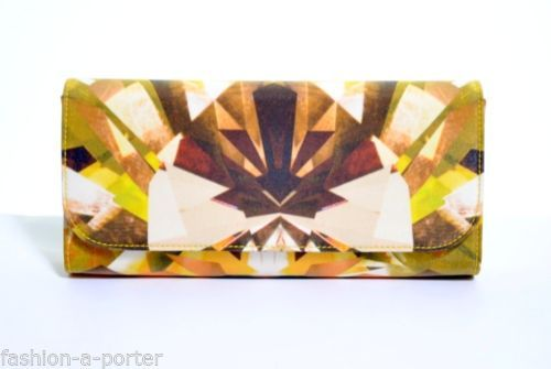 ALEXANDER-McQUEEN-KALEIDOSCOPE-CRYSTAL-PRINT-SATIN-AND-LEATHER-CLUTCH-BNWT