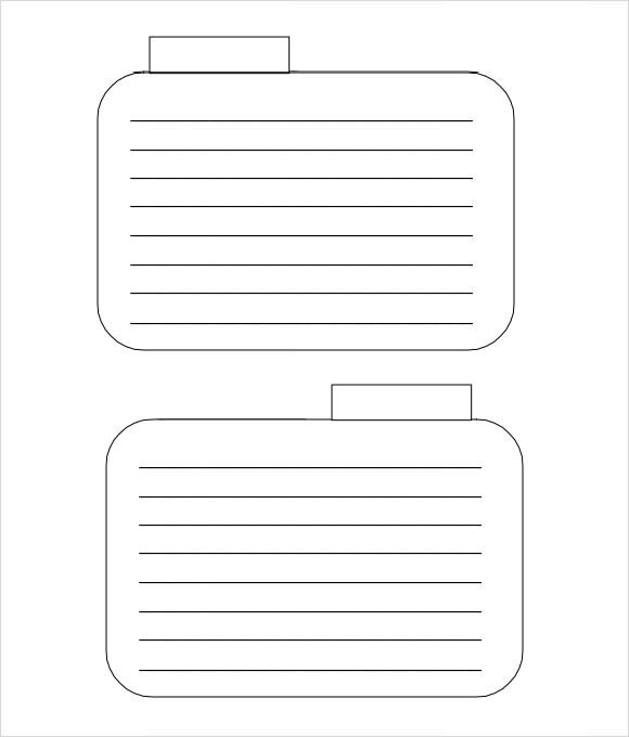 Amp Pinterest In Action In 2021 Flash Card Template Note Card Template Free Printable Card Templates