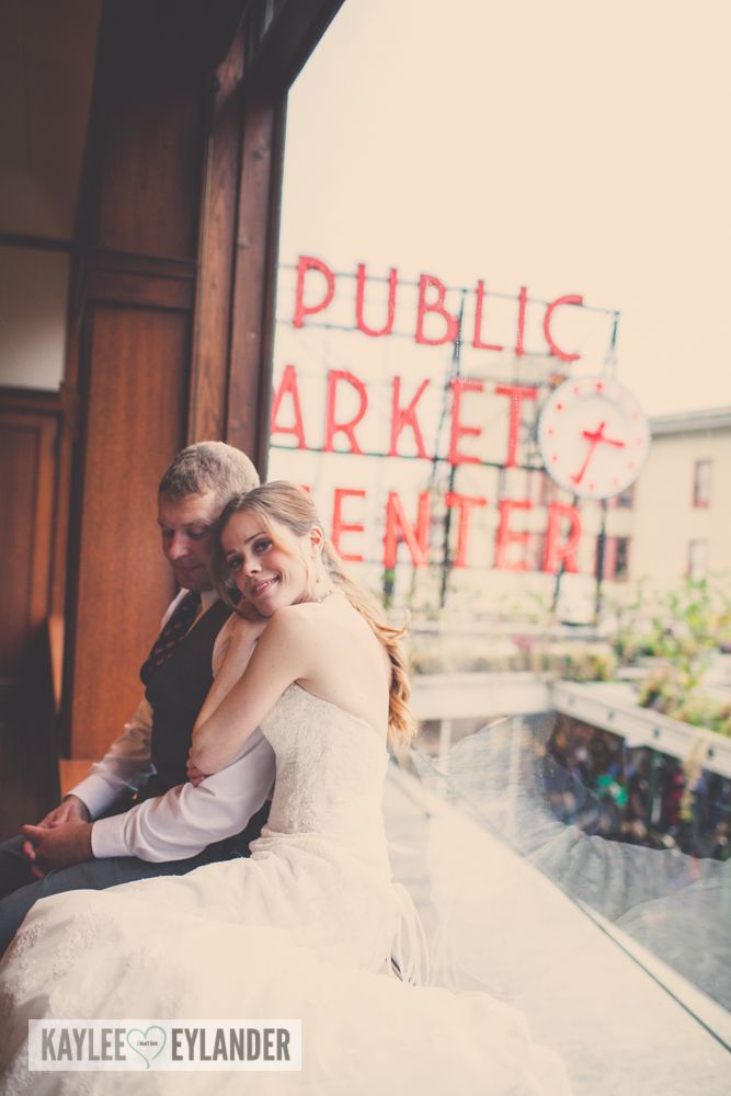 Pike Place Market Wedding 2 Tri Cities Photographer