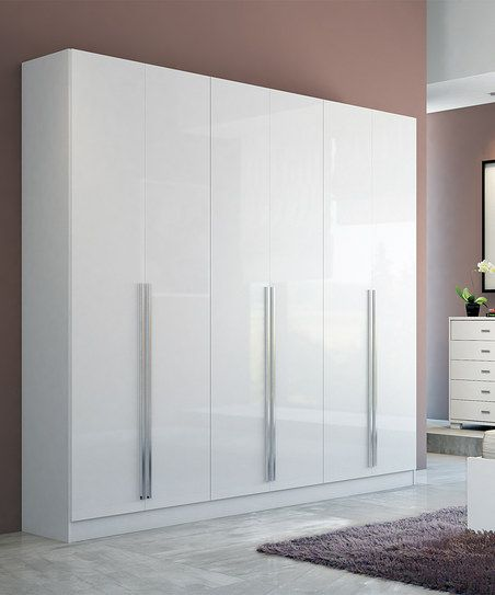 White Gloss Eldridge Wardrobe